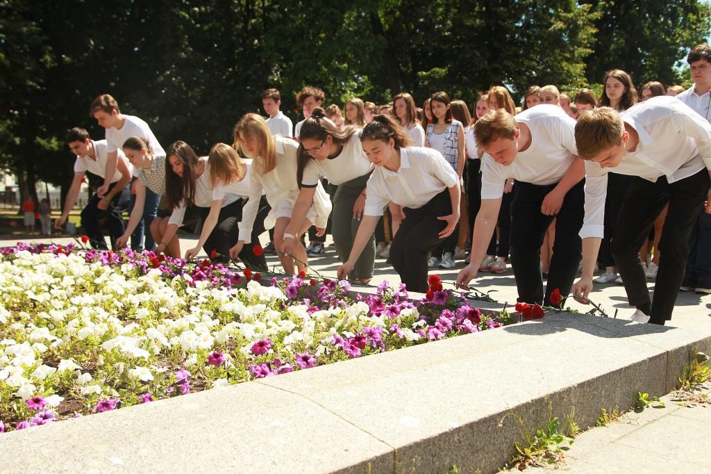 """Акция """"Вам, московские ополченцы"""" пройдет в нескольких района Центрального округа. Фото: Наталия Нечаева, """"Вечерняя Москва"""""""
