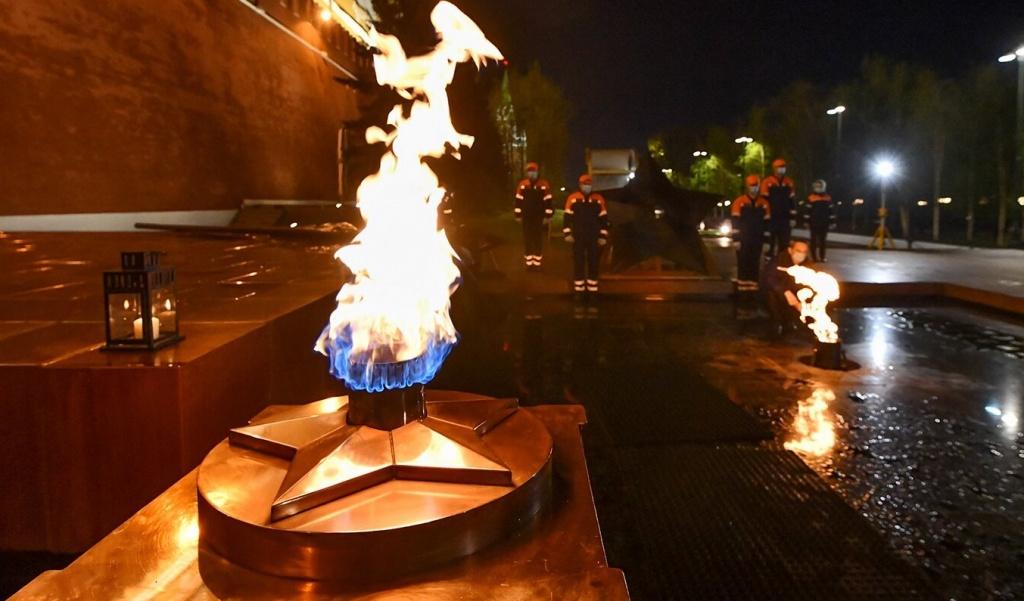 Профилактику Вечного огня проведут в Александровском саду. Фото: сайт мэра Москвы