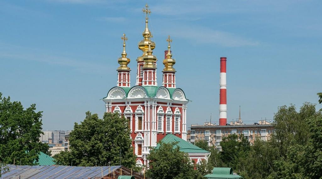 Старинные фрески обнаружили в Новодевичьем монастыре. Фото: сайт мэра Москвы