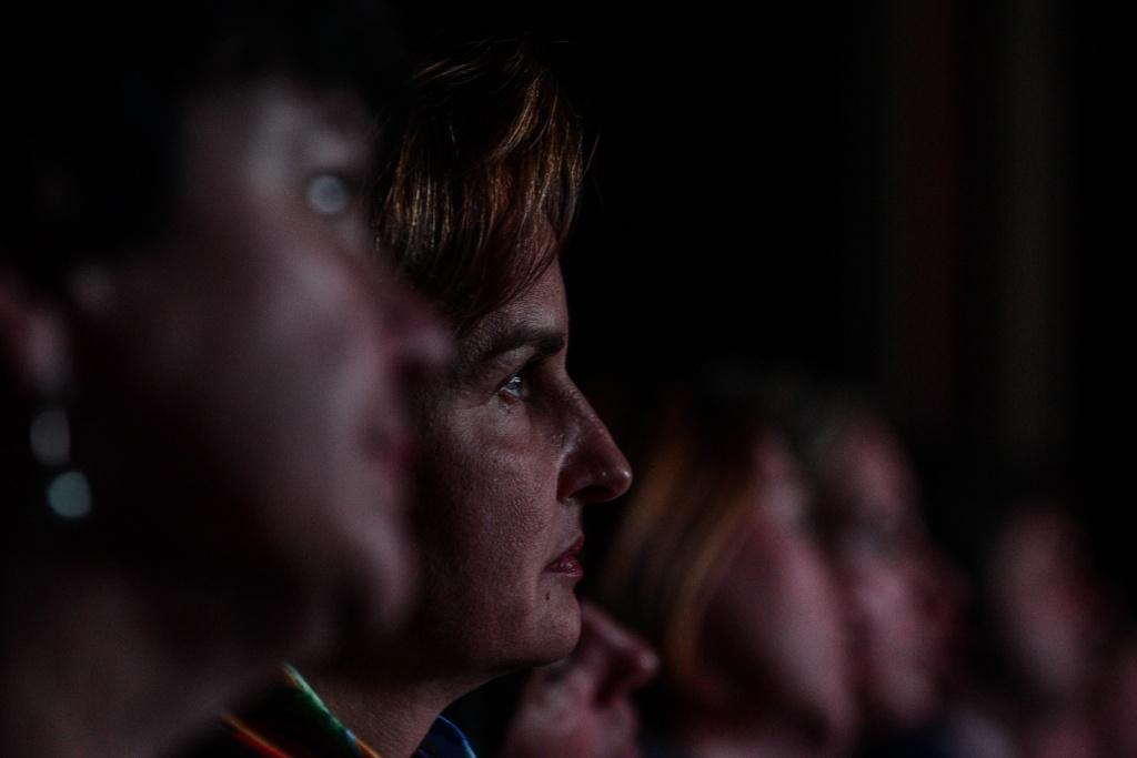 """Молодые парламентарии Басманного района организовали поэтический вечер. Фото: Пелагия Замятина, """"Вечерняя Москва"""""""