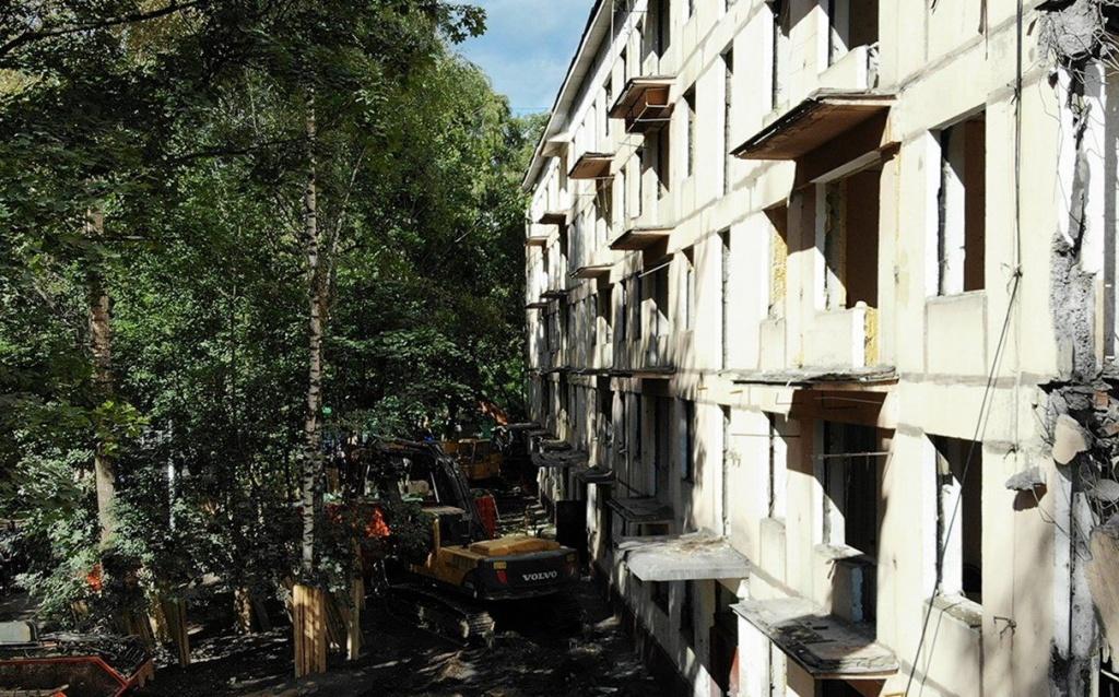 Отселенные дома проинспектировали в Басманном районе. Фото: сайт мэра Москвы